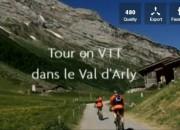 Tour en VTT dans le Val d'Arly
