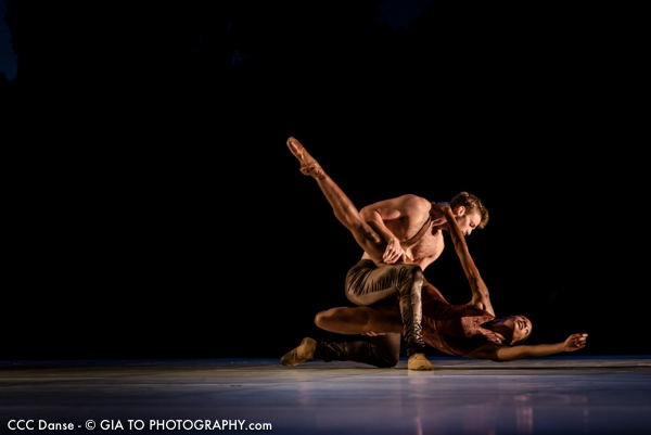 Alonzo King LINES Ballet - Shostakovich / Photo Gia To